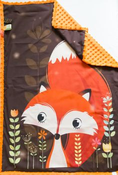 Hey, I found this really awesome Etsy listing at https://www.etsy.com/listing/469611210/fox-minky-blankets-woodland-baby-shower