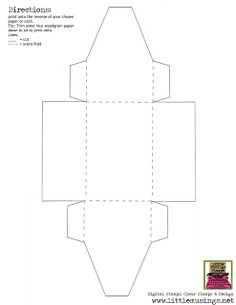 There are over 100 box templates, envelope templates & other resources on this site, this is just a sample pin!