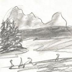 studium by kajtek21.deviantart.com on @DeviantArt Drawing Sketches, Drawings, Pencil, Landscape, Abstract, Artwork, Outdoor, Summary, Outdoors