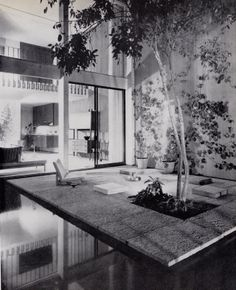 Opdahl House, Long Beach. 1957 by Edward Killingsworth