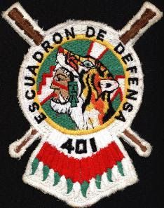 Mexican Air Force Escuadrón Aérea de Defensa 401 Patch