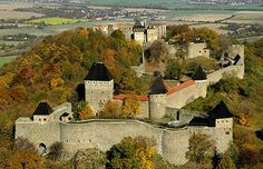 Helfenstein Castle, Geislingen an der Steige, Baden-Württemberg, Germany.... http://www.castlesandmanorhouses.com/photos.htm ... Helfenstein Castle represents the remnants of the fortified castle (burg) of the counts of Helfenstein. It was constructed at the turn of the 12th century and was frequently enlarged during the period from 1100 to 1380. By 1382 the castle was used as collateral for a loan from the city of Ulm. By 1396 it was totally under the control of the city of Ulm.
