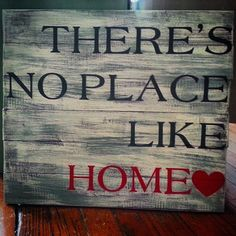Hey, I found this really awesome Etsy listing at https://www.etsy.com/listing/202083985/theres-no-place-like-home-hand-painted