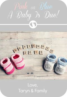 Pink or Blue... - Design, Dining + Diapers
