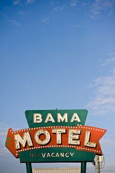 Old Motel Sign by T. Scott Carlisle