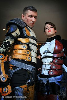 Zaeed and Zoey from Mass Effect | D*Con 2012 #cosplay