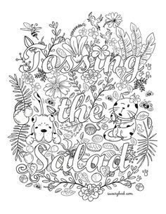 Facebook Groups Swearywords Adult Coloring Pages