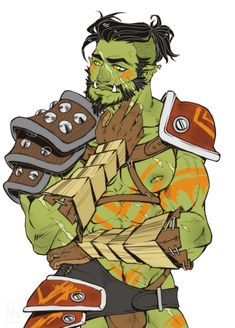 Orc Fighter http://mtartdreams.tumblr.com/