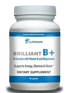 """Our exclusive Brilliant B+ formula plays important role as cofactors for synthesis of various neurotransmitters required for normal cognition and general neurological health. It consists of B Complex (B6, B12, Folate), Magnesium and Vitamin D, which are blended together for maximum results."""