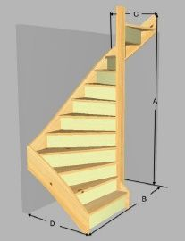 Discover thousands of images about 4 Astonishing Diy Ideas: Cheap Attic Insulation finished attic posts.Attic Stairs Outdoor attic storage tips. Attic Staircase, Loft Stairs, House Stairs, Staircase Design, Garage Stairs, Attic Ladder, Small Staircase, Garage Attic, Attic Window
