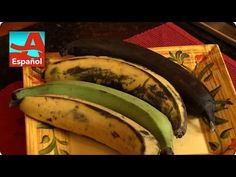 Denisse offers an easy tip to help speed up the ripening process for sweet plantains Ripe Plantain, Bananas, Fruit, Sweet, Easy, Food, Cooking, Recipes, Candy