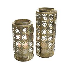 "$99 for pair, 8x20 & 8x15"" outside? Dead Sea Lanterns - Set of 2"