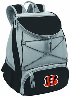 NFL Cincinnati Bengals PTX Insulated Backpack Cooler, Black * Check out the image by visiting the link.