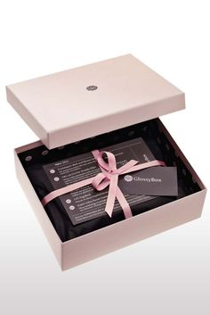 GlossyBox Monthly subscription (or one-off payments) and you get a box of 5 beauty samples or trial sizes delivered to your door!