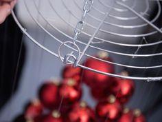 Tutoriales DIY: Cómo hacer un árbol de Navidad flotante vía DaWanda.com