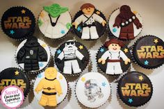 Sweet Cucas and Cupcakes by Rosângela Rolim: Cupcakes Star Wars