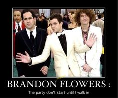 =) Dont You Know, Like You, Brandon Flowers, You Meme, Go To Sleep, A Good Man, Of My Life, Yup, Shelter