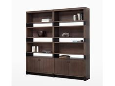 holly hunt - huron bookcase