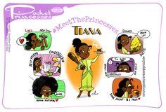 Pocket Princesses 153: Meet Tiana  Please reblog, do not repost or remove captions  Facebook page
