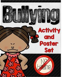 Bullying Activities Role Plays and Poster Set - Bullying can cause hurt feelings, tears, and emotional scars. This pack helps define the many different types of bullying as well as how to handle it in different situations. Great for and grade. What Is Bullying, Anti Bullying, Bullying Definition, Bullying Activities, Bullying Videos, Different Types Of Bullying, Bullying Posters, Teacher Posters, Feeling Used