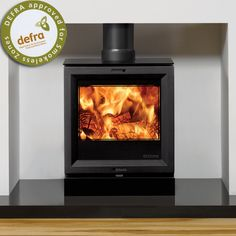 The Stovax View 5 stove has a modern slant along with clean, crisp contemporary lines offering an elegant addition to any room. The Stovax View 5 stove is conveniently built to be suitable for use as both a wood and multi-fuel burner. Log Fires, Wood Burning Fires, Electric Fires, Electric Stove, Pellet Stove, Gas Stove, Contemporary Wood Burning Stoves, Boiler Stoves, Solid Fuel Stove