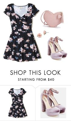 """""""Untitled #1018"""" by shdav ❤ liked on Polyvore featuring Hollister Co., JustFab and 1928"""