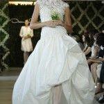 Trend # 1  Jeweled summer wedding dress 2013 Oscar De La Renta