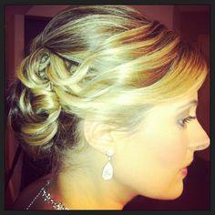 Hair, updo, bridal, prom