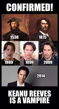 Just one more to love Keanu.