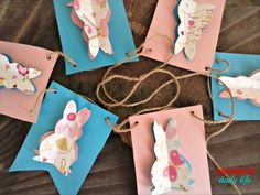 Easter Bunny Banner submitted to InspirationDIY.com