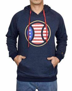 Fseason-Men Classic Fit Xmas Festival Tunic Sweatshirts with Hood