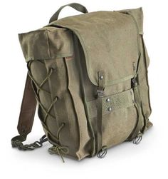 Vintage Italian Army Backpack by r3supplyco on Etsy, $58.00