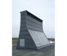 Zonne schoorsteen - voor natuurlijke (gratis) ventilatie