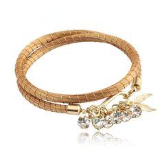 Pulseira em capim dourado banhada a ouro  com strass. #biojoia #biobijouxbrazil #biobijouteria #pulseira #capimdourado
