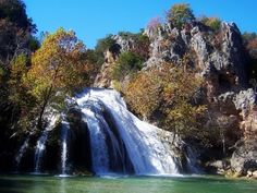 Turner Falls, Oklahoma.  A great camping site!