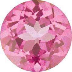 Natural Mystic Pink Topaz Gemstone Faceted Round Size 3 mm, 4 mm, 5 mm, 6 mm, 6.5 mm, 7 mm, 8 mm, 9 mm & 10 mm