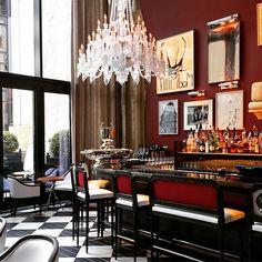 Glamorous Living - Baccarat Hotel NYC
