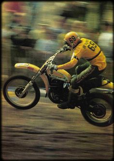 Roger DeCoster - What kid didn't dream of being Roger DeCoster? I know we did.