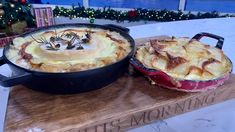 James Martin's potato Dauphinoise and tartiflette   This Morning Potatoes Dauphinoise, Baked Falafel, James Martin, Potato Side Dishes, Morning Food, Family Meals, Family Recipes, Main Meals, Tasty Dishes