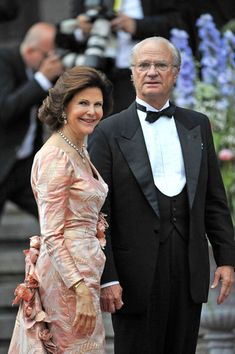 Royal gala at the Stockholm Concert Hall one night before the Swedish Crown Princess Victorias wedding to Daniel Westling.