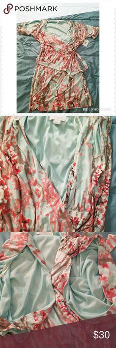 Jessica Simpson Women's Medium Cold-Shoulder Sheat Comfortable fit Jessica Simpson Dresses Midi