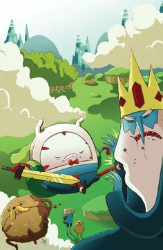 Peppermint Butler! My favorite character of Adventure Time after the incredible Lumpy Space Princess! #AdventureTime