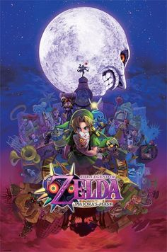Legend of Zelda - Majora's Mask - Official Poster