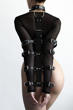 Leather Hands and Neck Bondage BDSM collar Slave collar Lingerie Cuir, Leather Handcuffs, Ceinture Large, Slave Collar, Leather Harness, Dark Beauty, Catsuit, Natural Leather, Etsy