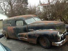 1948 buick hearse | 1948 Buick Hearse RARE Made by Flxible Service Car | eBay