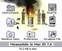 abandoned Mac OS 7.6