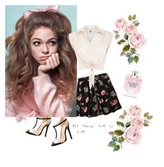 """""""You Always Look So Cute"""" by mrsbradford ❤ liked on Polyvore featuring Abercrombie & Fitch, H! by Henry Holland, Charlotte Russe, Victoria's Secret and Oasis"""