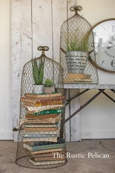 Large Cloche-Nautical-Beach Decor-Cloches Set of two-Coastal Decor-Free Shipping - The Rustic Pelican Rustic Farmhouse Decor, Modern Farmhouse, Farmhouse Lighting, Diy Pendant Light, Pendant Lighting, Manufactured Home Remodel, Home Decor Pictures, Natural Home Decor, House And Home Magazine