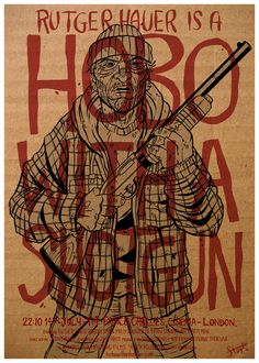 Hobo with a Shotgun - movie poster - James Stayte
