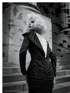 visual optimism; fashion editorials, shows, campaigns & more!: the birds: pamela bernier by leda & st.jacques for elle canada december 2013